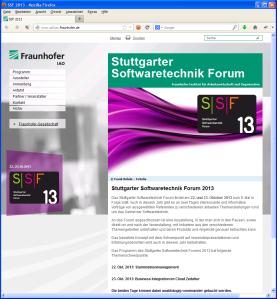 SSF 2013