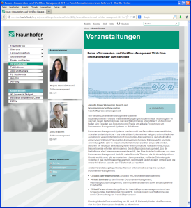 Dokumenten‐ und Workflow‐Management 2014