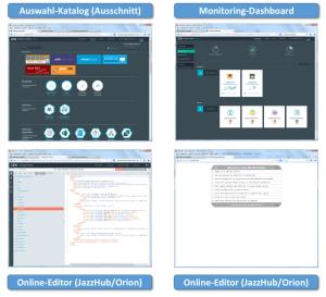 BlueMix - Entwicklungs- und Ablaufumgebung aus der Cloud