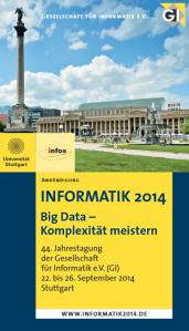 Informatik 2014 in Stuttgart