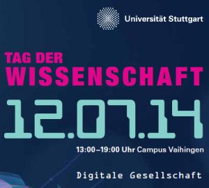 Universität Stuttgart - Tag der Wissenschaft 2014