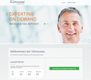 10minutes - Expertenrat auf Abruf