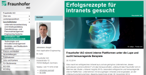 Intranet Insights 2015: Success-Stories gesucht