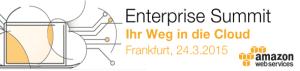 AWS Enterprise Summit 2015 in Frankfurt