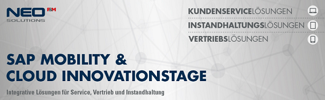 SAP Mobility & Cloud Innovationstage 2015 von NEO/F&M