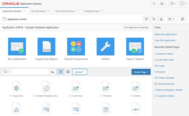 APEX (Oracle Application Express) - Datenbank-basierte Web-Anwendungen schnell erstellen