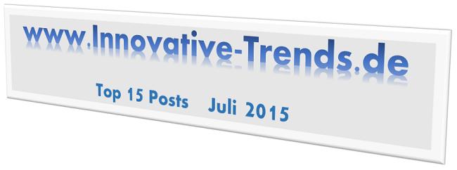Top 15 Posts im Juli 2015