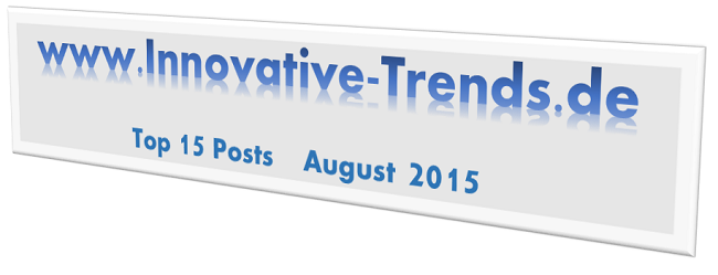 Top 15 Posts im August 2015