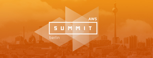 AWS Summit 2016 in Berlin am 12.4.2016