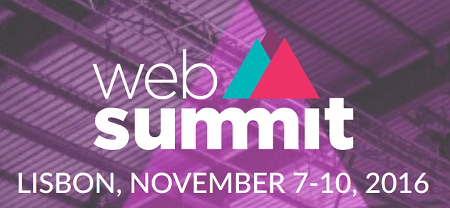 Web Summit 2016 vom 7. bis 10. November 2016 in Lissabon