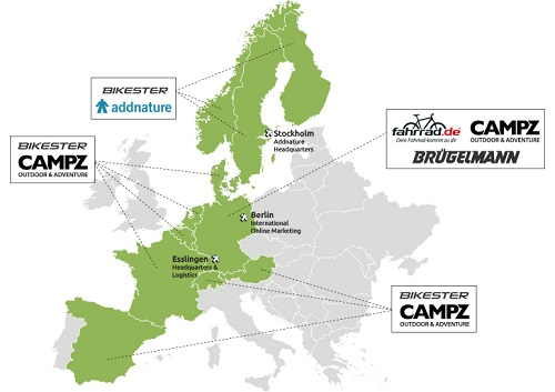 Internetstores: Europas führendes eCommerce-Unternehmen für Bike und Outdoor