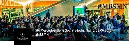 56. Mercedes-Benz Social Media Night