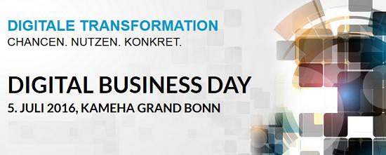 Digital Business Day 2016 in Bonn
