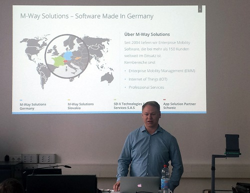 Enterprise-Mobility-Experte Stefan Jauker (CTO von M-Way)
