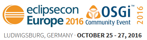 EclipseCon Europe 2016 und OSGi Community Event 2016 im Oktober in Ludwigsburg