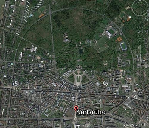Fächerstadt Karlsruhe als Zentrum des Testfelds für Autonomes Fahren