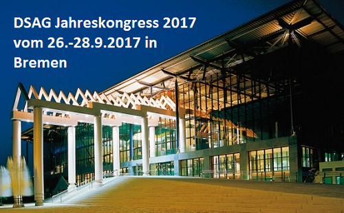 DSAG Jahreskongress 2017 in Bremen