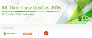 IDC Directions: DevOps 2016 in München