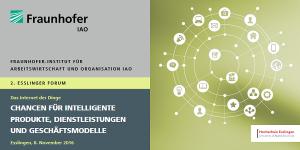 Forum Internet der Dinge 2016 in Esslingen