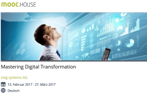 Mastering Digital Transformation (Online-Kurs)