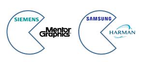 Siemens übernimmt Mentor Graphics, Samsung übernimmt Harman