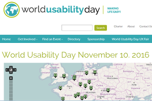 World Usability Day 2016