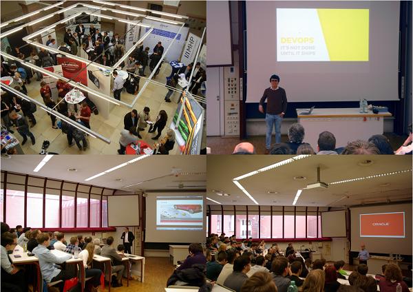 Impressionen vom KITT und Informatiktag 2017 an der HFT Stuttgart