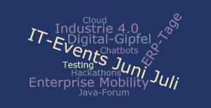 Vielzahl von spannenden IT-Events im Juni / Juli 2017