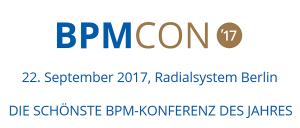 BPMCon 2017 in Berlin