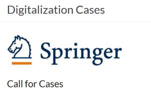 Digitalisierung: Beispiele aus der Praxis für Springer-Buch gesucht (Deadline: 30.9.)