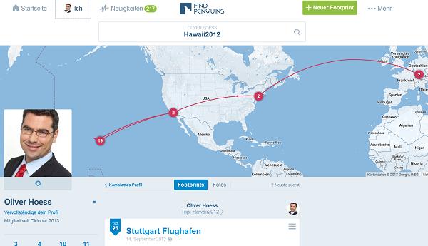 FinPenguins: Das Travel-Network