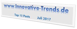 Top 15 Posts im Juli 2017