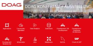 DOAG 2017 Konferenz und Ausstellung in Nürnberg