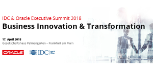 IDC & Oracle Executive Summit 2018